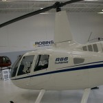Robinson R66 side view