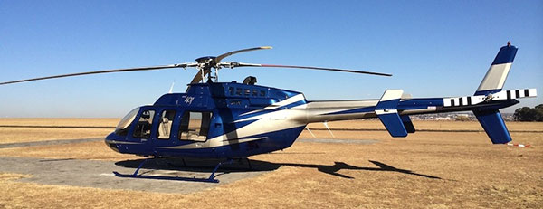 2008-Bell-407 helicopter