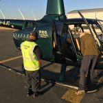 Clearing Customs at Lanseria to Deliver a New R66 to Zanzibar