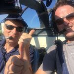 Phillip Cope and Aldo Pavoni fly the Alo over the Alps
