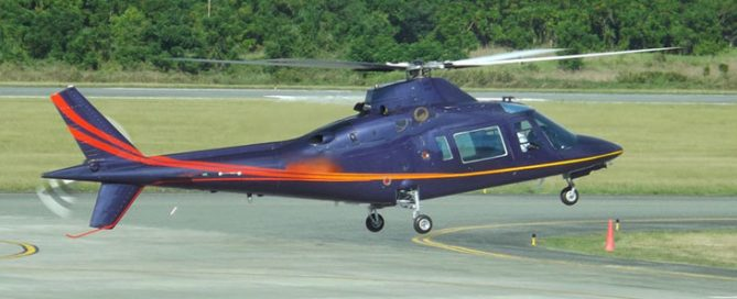 1991 AGUSTA 109C Helicopter