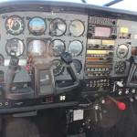 1986 Cessna 206 cockpit