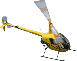 Robinson R22 helicopter for training