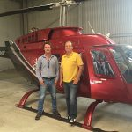 Phillip Cope concludes the purchase of D-HHMM from Dr Dieter Wissmach in Germany